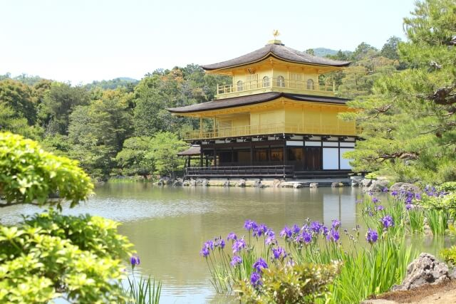 The Japanese Magnificent Scenery in kyoto【No 2】|Kinkakiuji is registered as World Heritage since 1994.