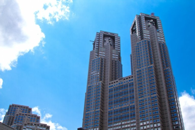 Tokyo Metropolitan Government Building Observatory|Japanese Magnificent Scenery Tokyo