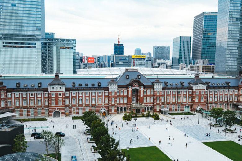 The Japanese Magnificent Scenery in Tokyo 【No 4】|Tokyo Station in Tokyo